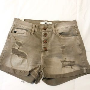 Kancan distressed Jean shorts